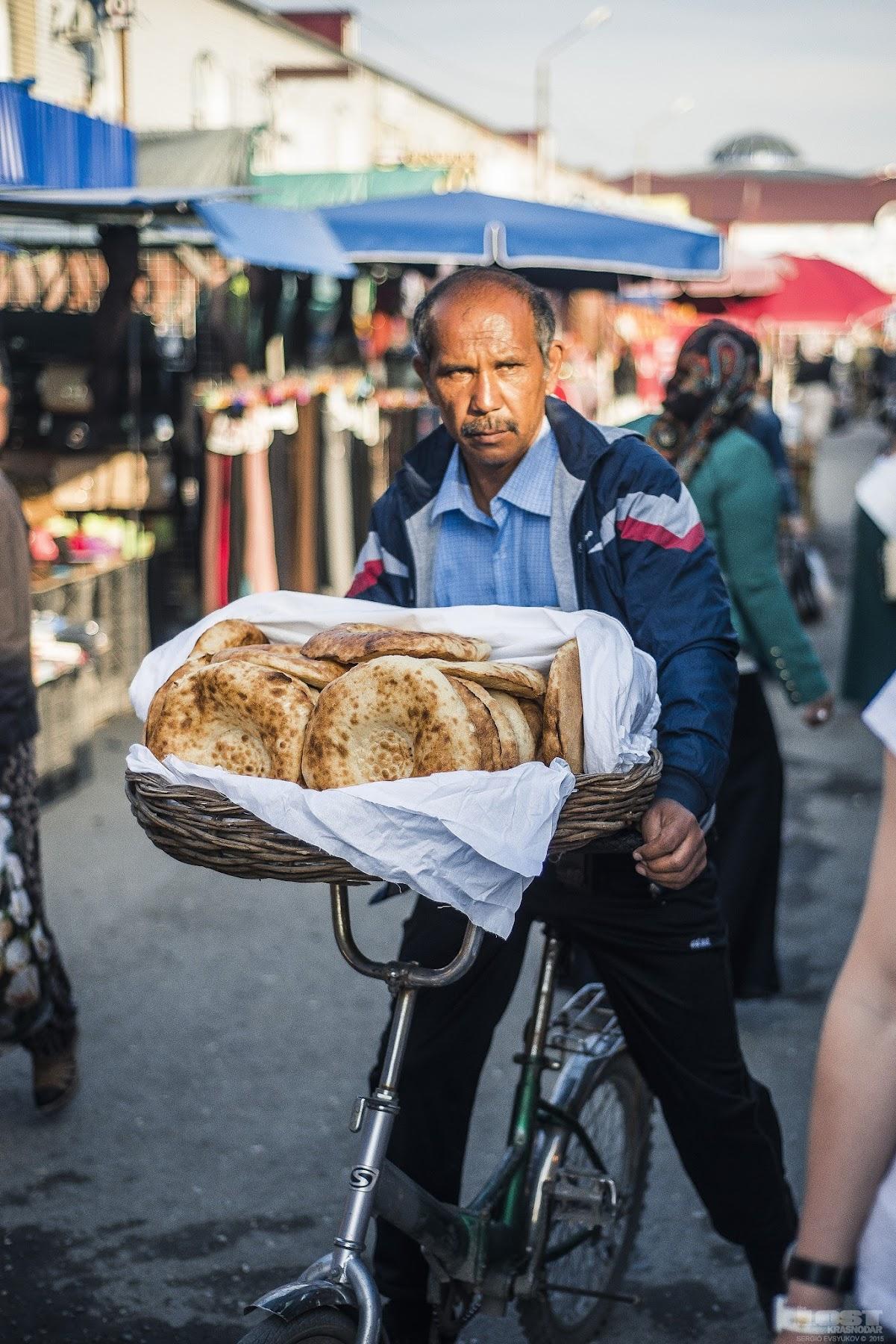 На рынке в Грозном