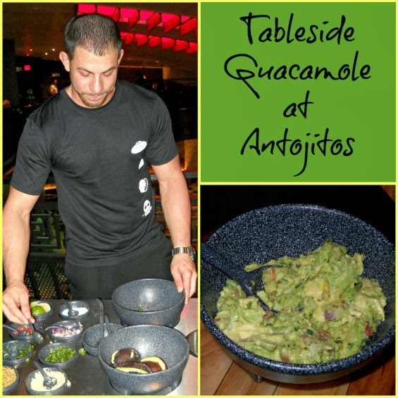 Tableside Guacamole at Antojitos