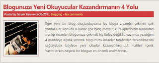 Blog Hocam'ın eski yazıları - 2