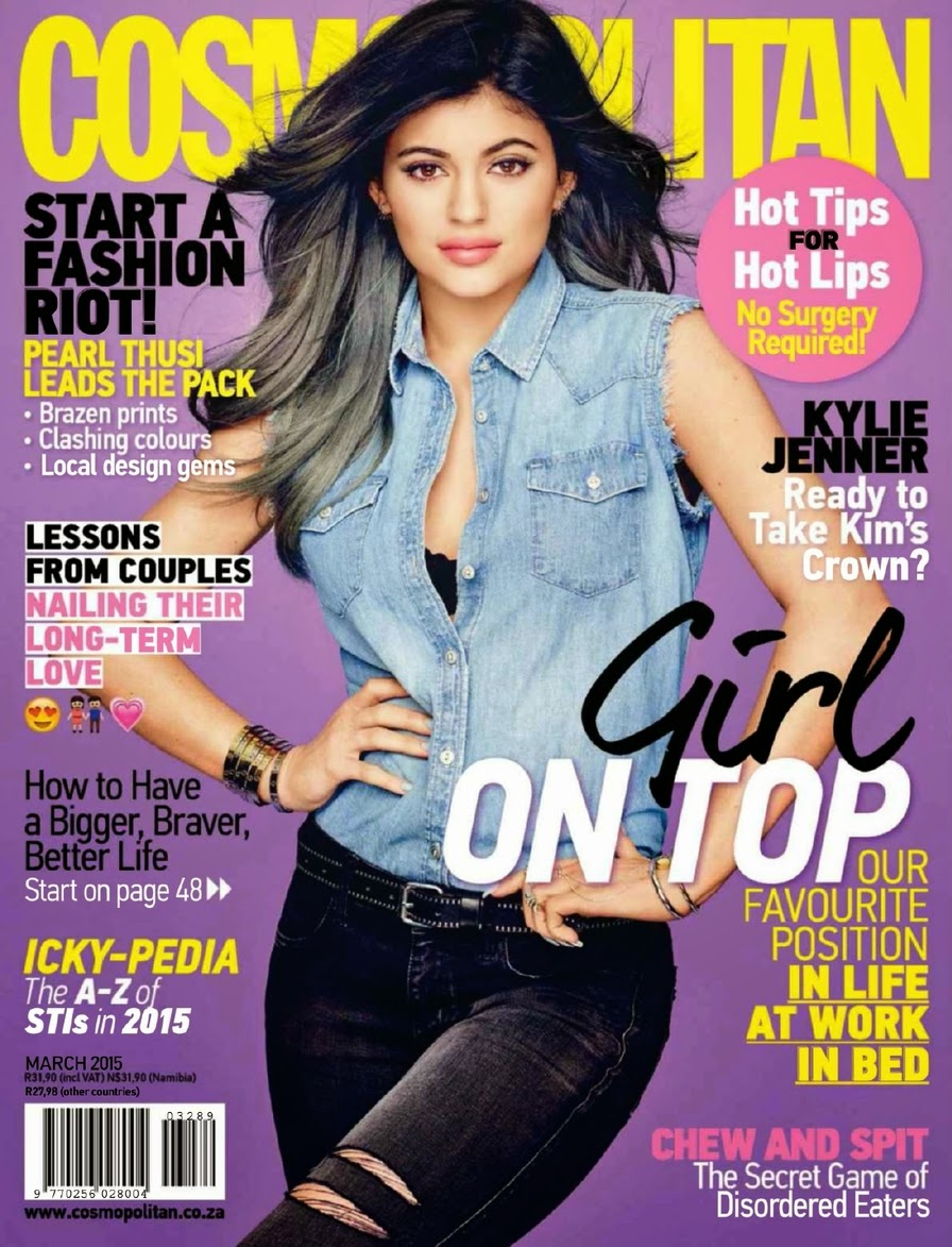 Model, Actress: Kylie Jener - Cosmopolitan South Africa March 2015