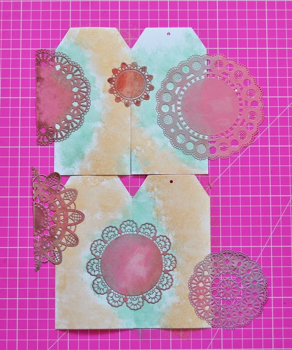 Tea Party Pretties by Denise van Deventer using BoBunny Cardstock and Pearlescents 14
