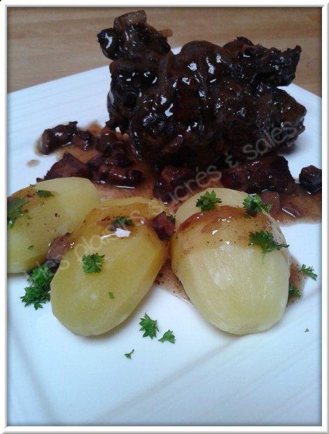 Mes plaisirs sucr s sal s queue de boeuf la hochepot - Duree cuisson cote de boeuf ...