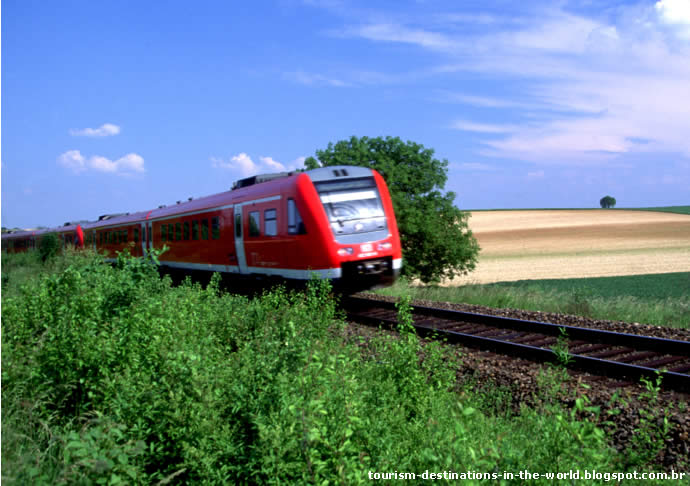 RailEurope - Trem Alemanha - German Rail Pass - Extensão German Rail Pass