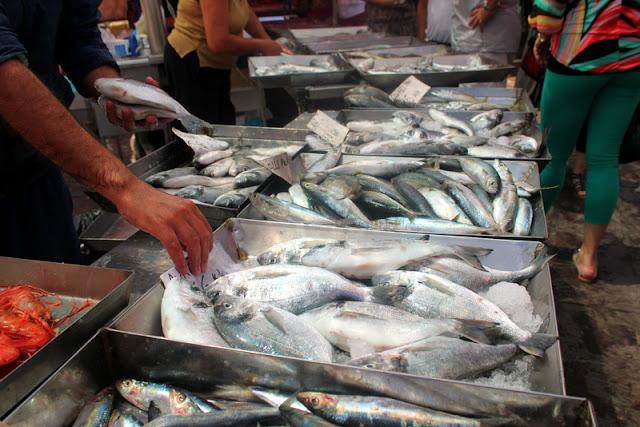 Fish at Marsaxlokk market