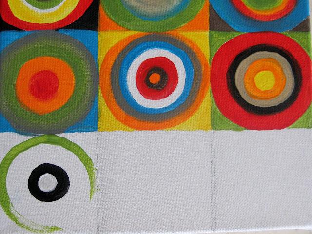 stayathomeartistcom concentric circles canvas art