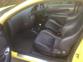 Ford Puma Millenium Edition Recaro leather seats