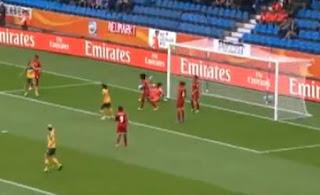 Australia denied clearest penalty, Video Australia Equatorial Guinea