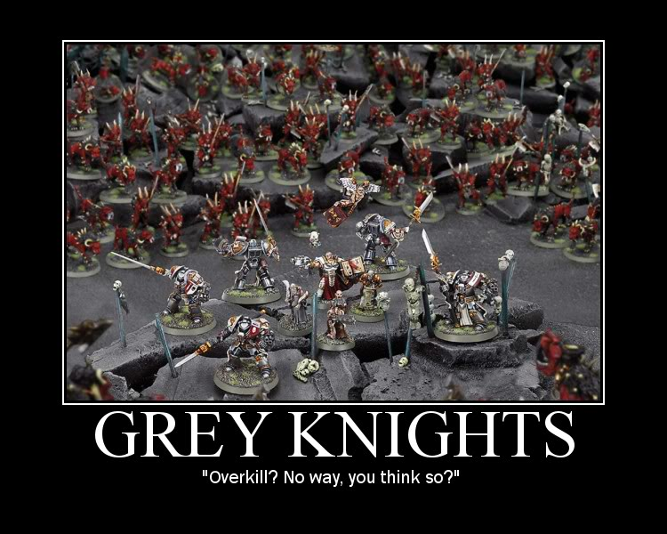 Miniature Wargame Conversions Thoughts Of A Herb Grey Knight List
