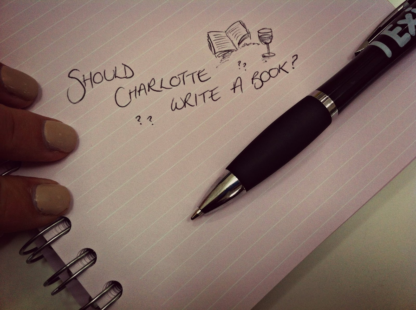 What should i write about?