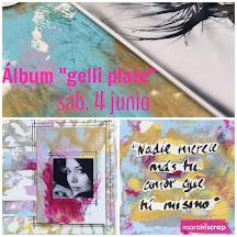 Marakiscrap Reus:                        Álbum gelli plate