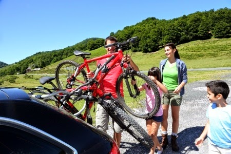 Portabicicletas - Transportar la bicicleta en el coche