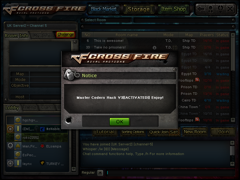 Hack no crossfire download