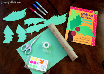 Juggling with Kids: Match Upper and Lower Case Letter for Chicka Chicka Boom Boom Project