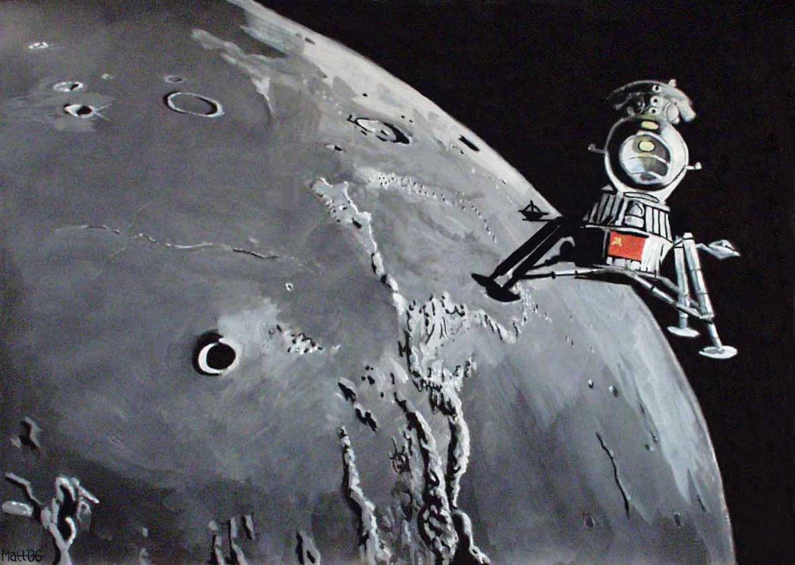soviets moon landing rockets - photo #38