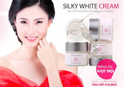 Silky White Cream san pham chuyen gia duong trang da