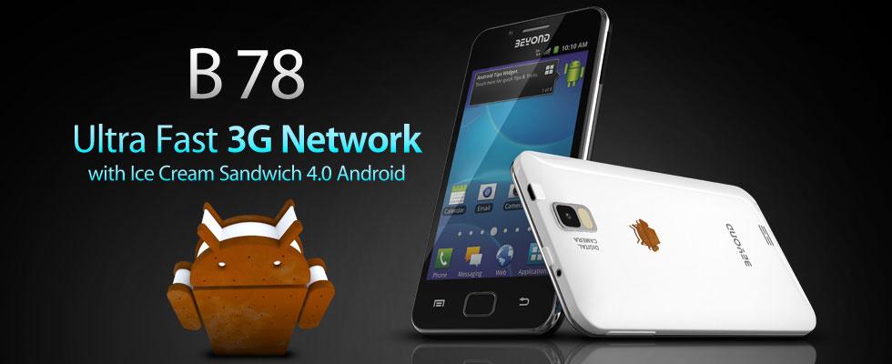 Beyond B78, Hp Android Harga Rp 1,5jutaan