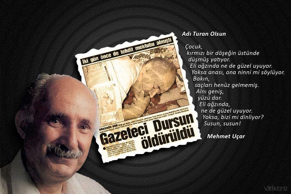 Hazır ülkede Laiklik tartışılırken Turan Dursun'un bir mektubunu tekrar yayınlayalım