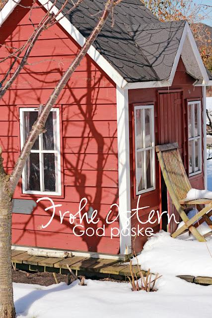 Amalie loves Denmark Kinderhaus im Schnee