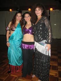 Con Jillina y Sahra Saeeda