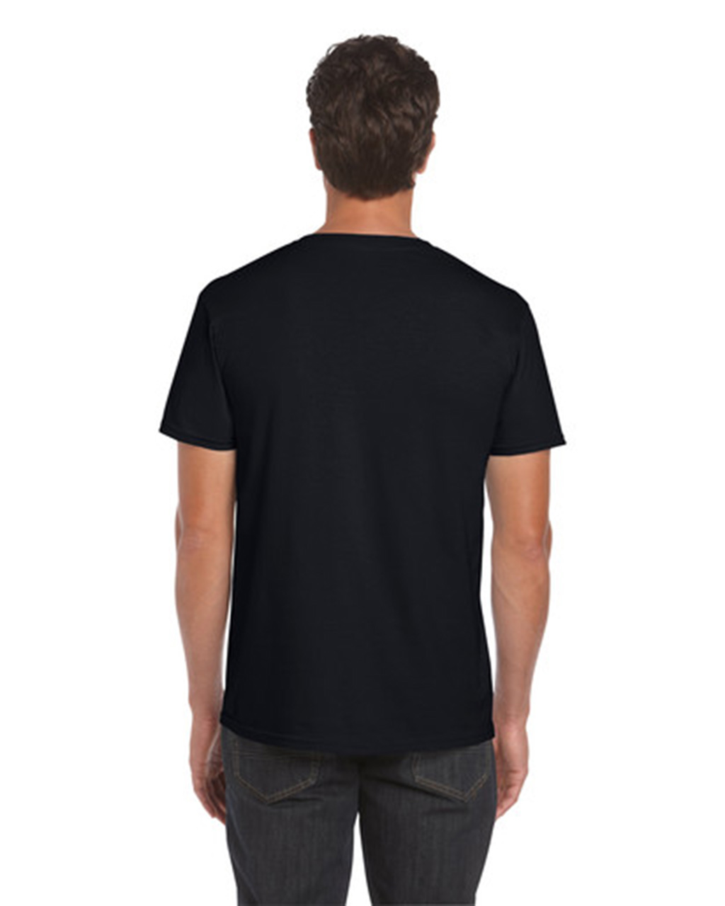 gildan black t shirt template wwwimgkidcom the image