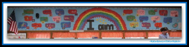 photo of: Bulletin Board for Kindergarten Graduation at RainbowsWithinReach