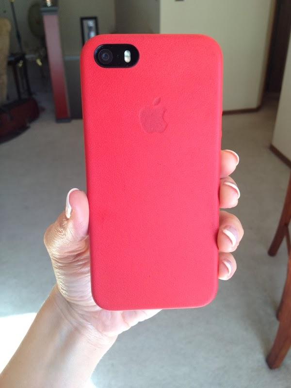 Handy In KS Apple IPhone Leather Case Timeline Of Wear