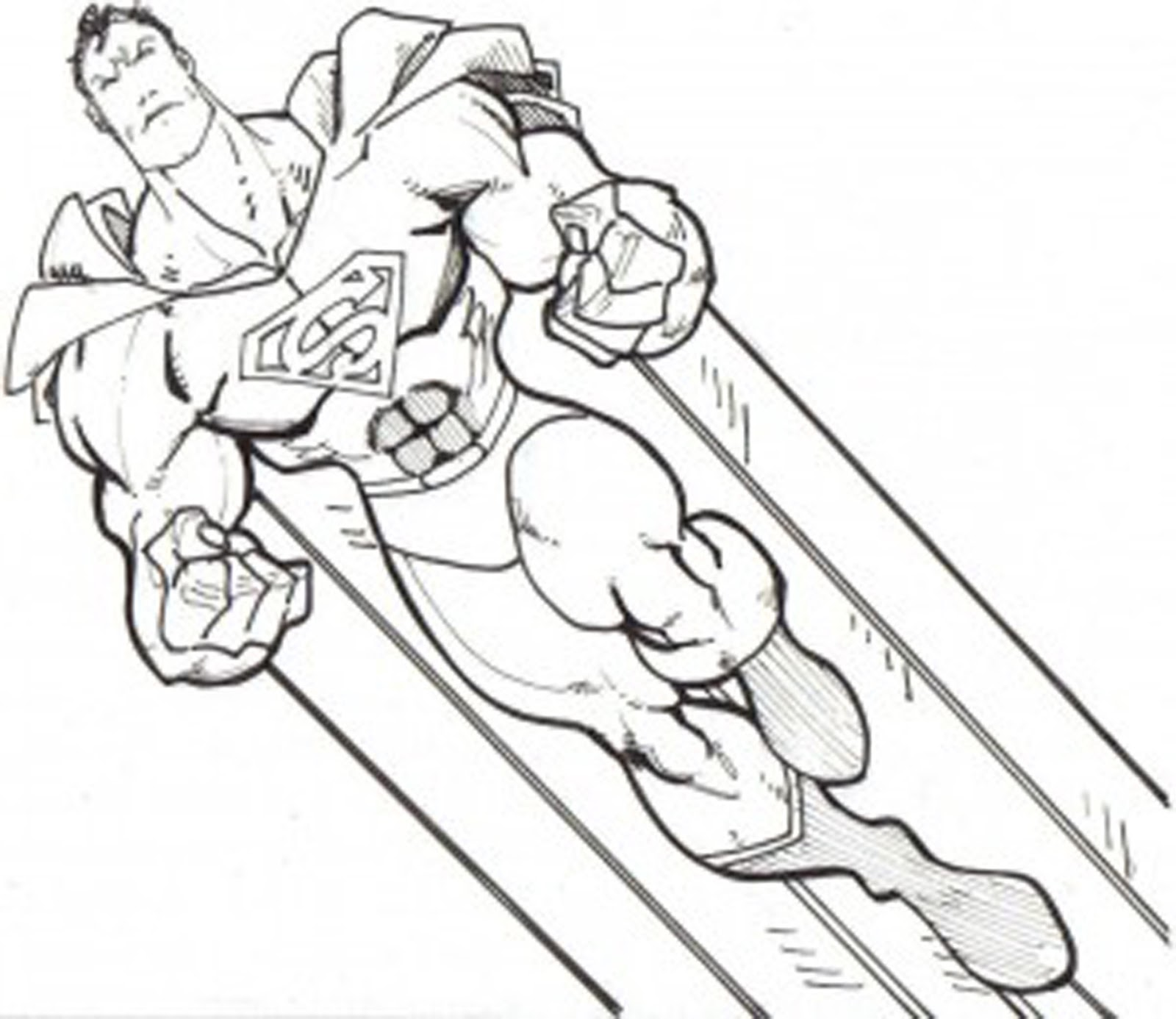 Baby Superman Coloring Pages. Graphic Designs  Illustrations Logo and Vector Art by Peter Dranitsin Coloring Pages For Kids