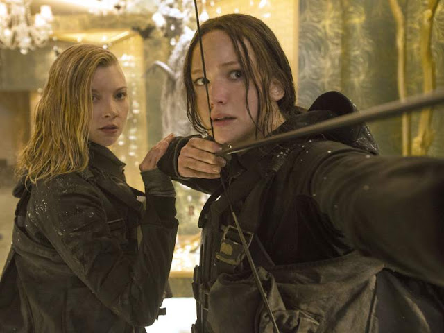"Natalie Dormer directs Jennifer Lawrence in the final installment of ""The Hunger Games"""