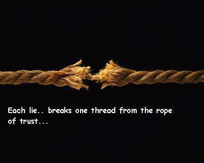 The Rope Of Trust Inspirational Picture Quotes