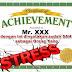 Sertifikat Stress & Manajemen Stress