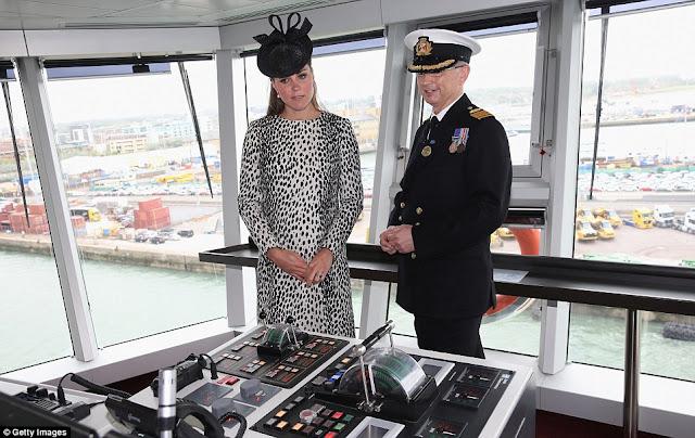 Duchess of Cambridge christening The Royal Princess