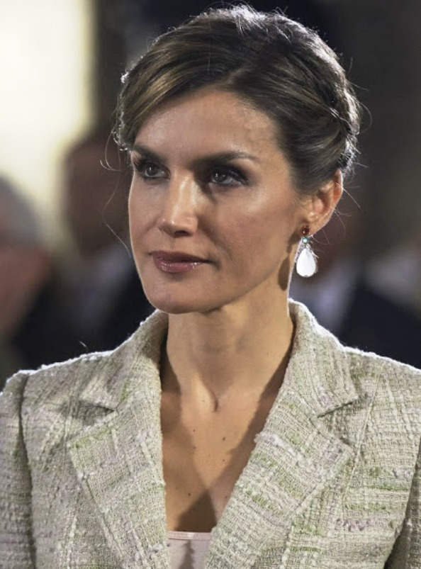 Queen Letizia And King Felipe Attended The Prince De Viana 2015 Awards Ceremony