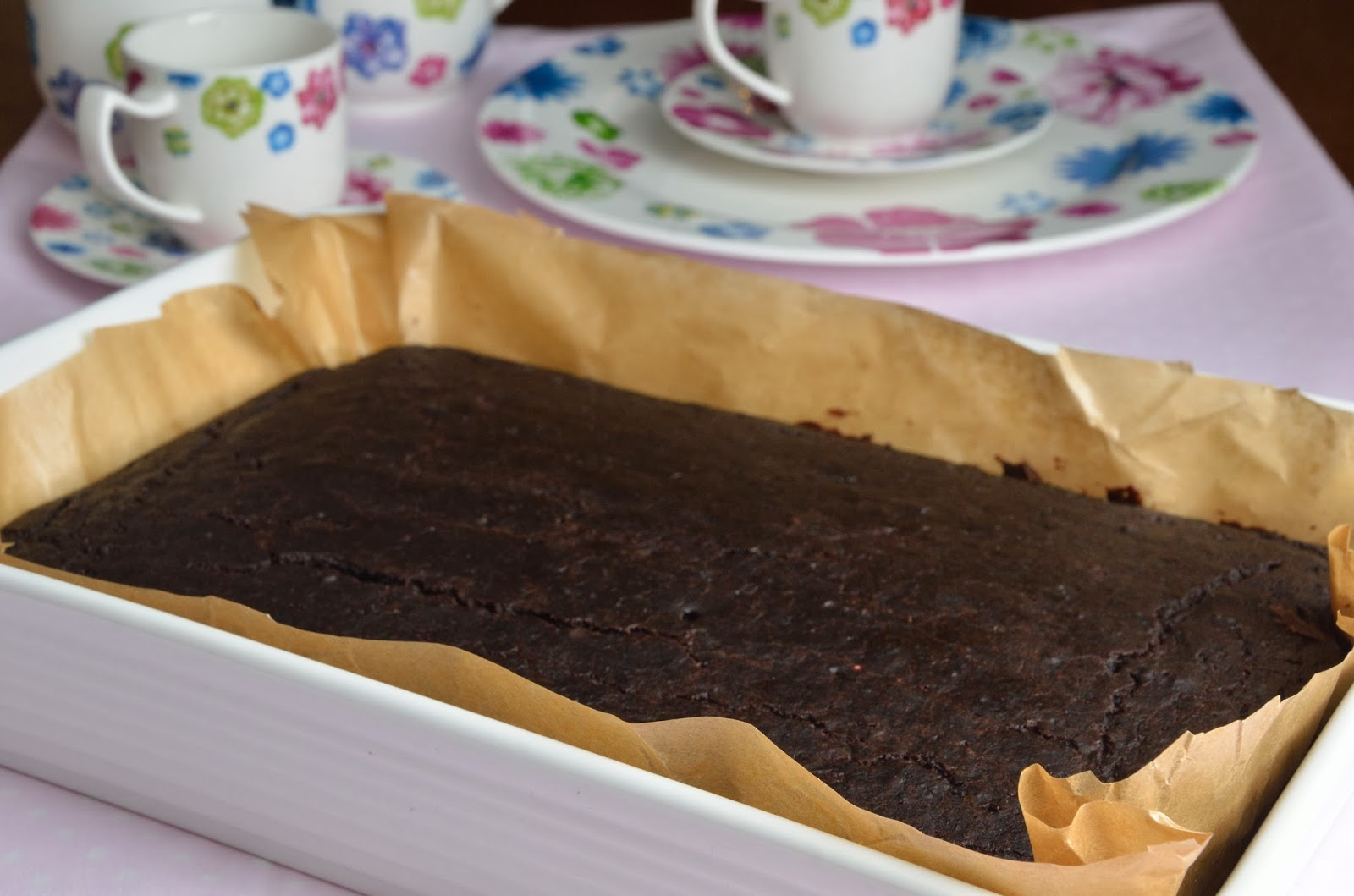 Ciasto czekoladowe / brownie z burakami (wegańskie)