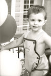 "Brayden- 2 yrs (Apr. 11th)...""Brady Bear""- our hazel-eyed sweet baby"