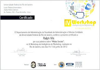 IV Workshop de Inteligência de Marketing