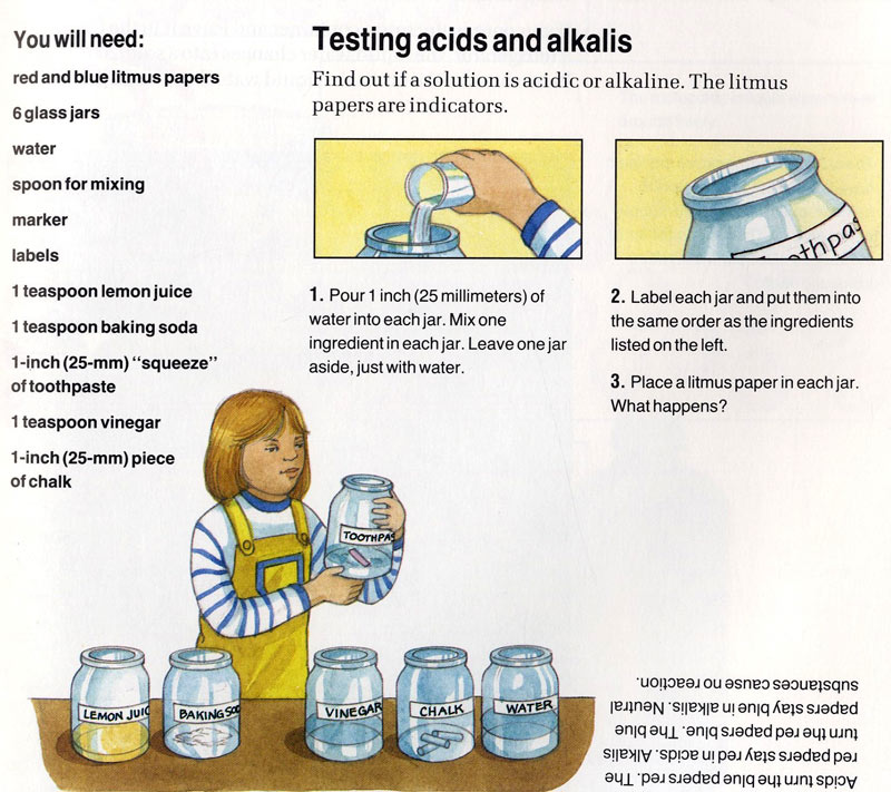 acids and alkalis lab report A titration is a procedure used in analytical chemistry to determine the amount or  since strong acids and strong bases are totally dissociated to protons and .