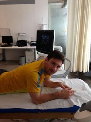 Messi volverá pronto
