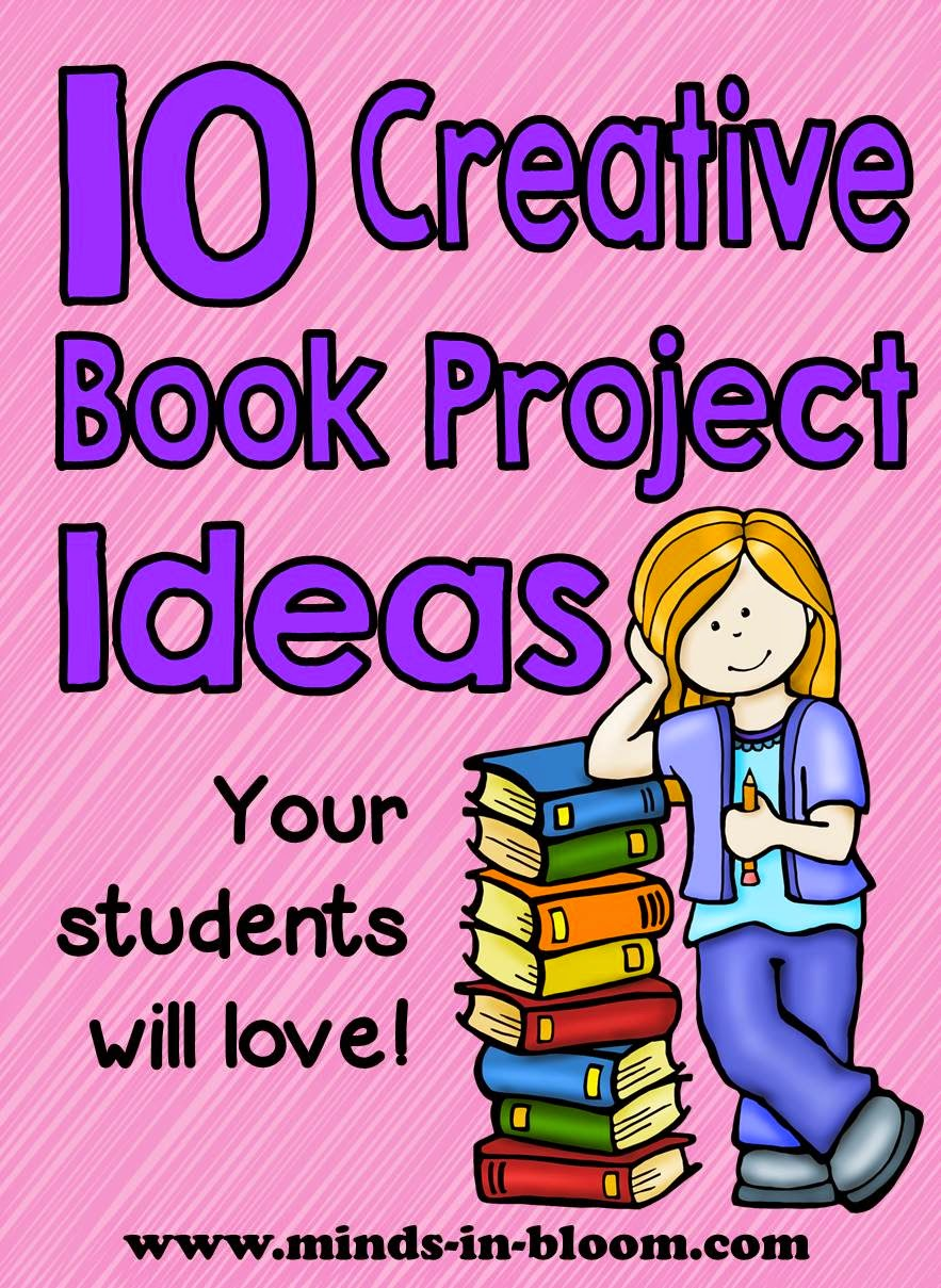creative book report options Book reports can be a contributing 10 technology enhanced alternatives to book reports bookcasts let students be creative and provide them with a great.