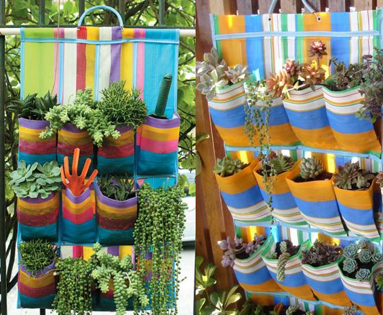 jardim vertical latas: para cultivar suas plantas, uma solução é fazer uma horta vertical