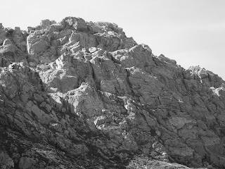 Llechog, Llechog South East Face, Andy McQue, Not Llechog in Cwm Clogwyn