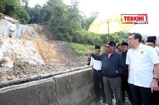Sultan Pahang titah laluan di km 52.4 Lebuhraya Kuala Lumpur-Karak dibuka segera
