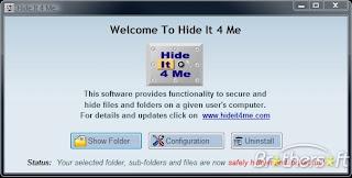برنامج Hide لاخفاء المجلدات والمستندات