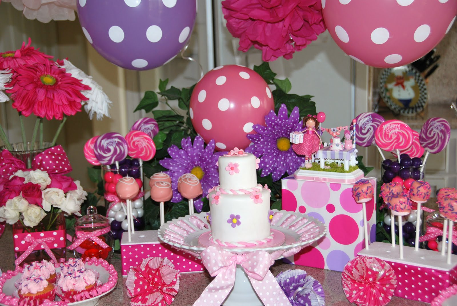 Download image Pink And Purple Birthday Decorations PC, Android ...