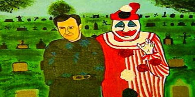 Resultado de imagen para john wayne gacy pinturas
