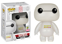 Funko Pop! Transluscent Glitter Emoticon Baymax