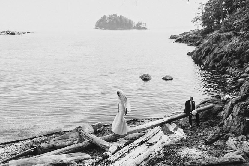 pender harbour wedding photo