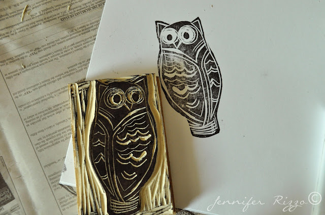 How to carve a rubber stamp at home