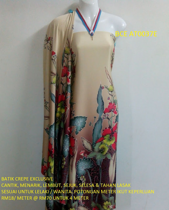 BCE AT0037E: BATIK CREPE EXCLUSIVE