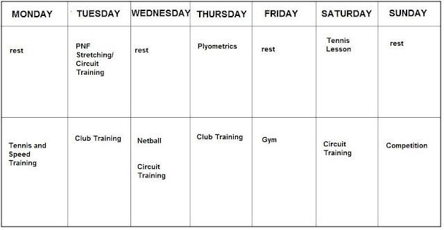6 week training programme btec sport essay