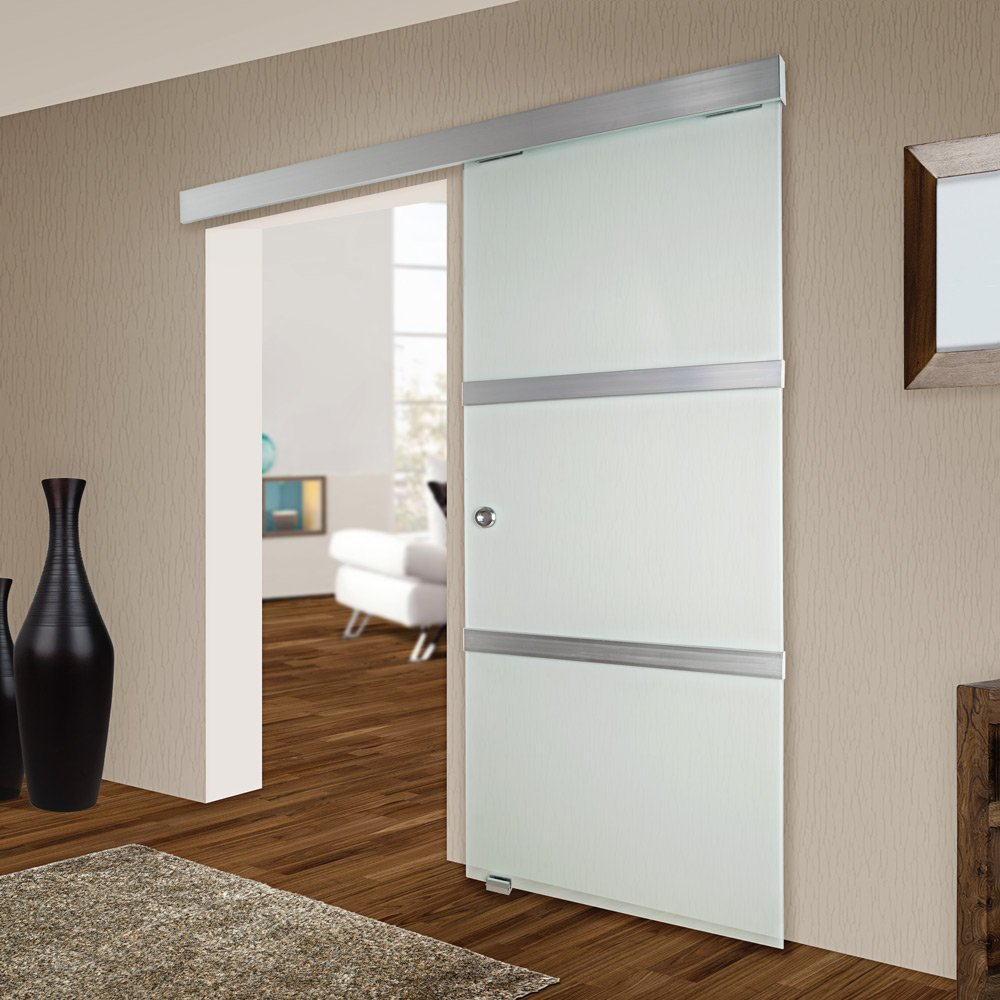 Puertas correderas puertas correderas de cristal o vidrio - Puertas correderas de salon ...